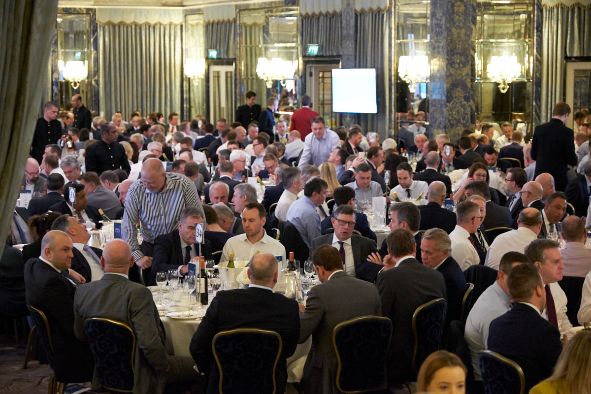 an event in the Dorchester ballroom
