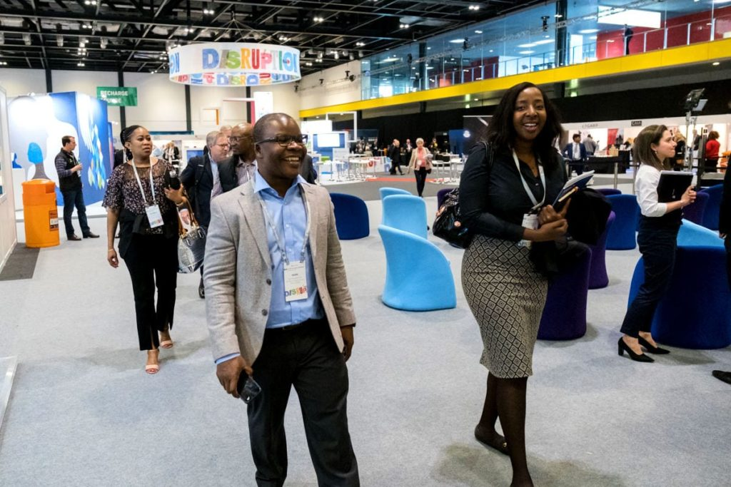 Delegates at the ExCeL London