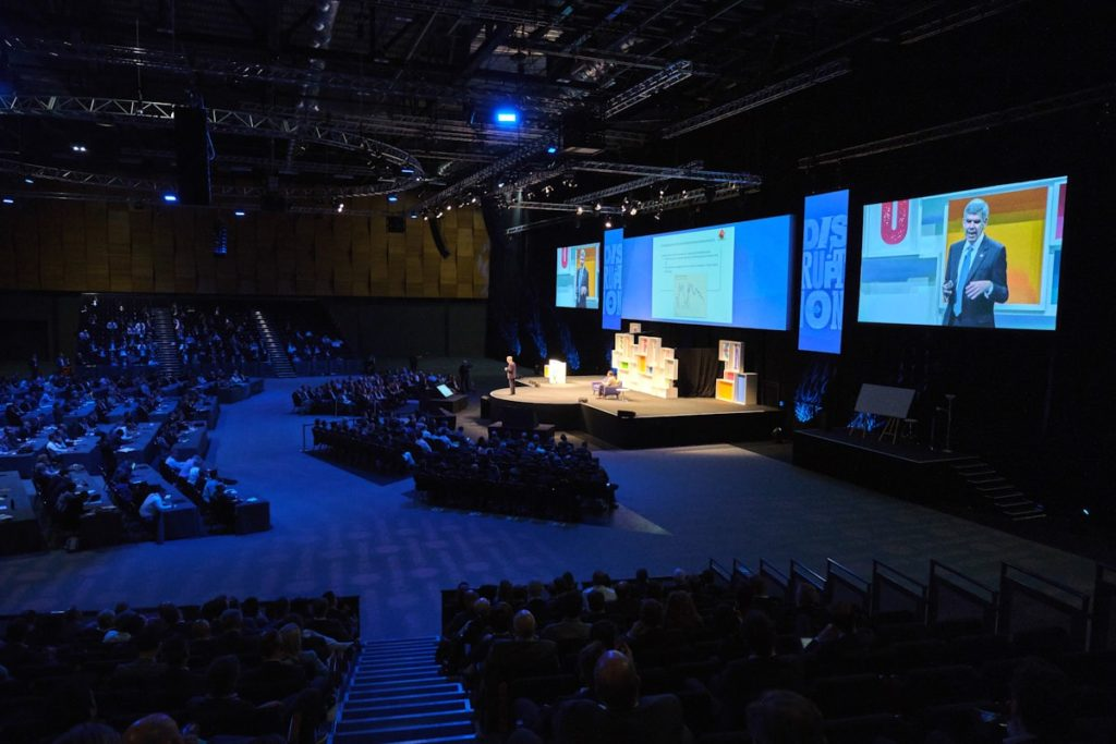 A conference at ExCeL London
